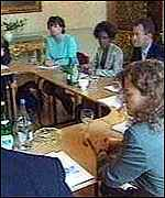 [ image: The committee meets at 11 Downing Street]