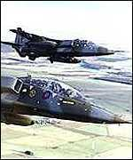 [ image: RAF Jaguars are part of Nato's Kosovo force]
