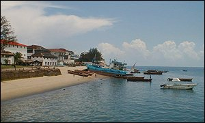 Beach front of Stonetown
