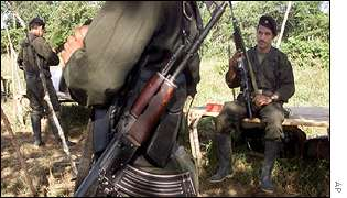 FARC rebels in safe haven
