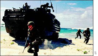 US military exercise in Vieques