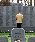 The memorial to the victims of the Lockerbie bombing