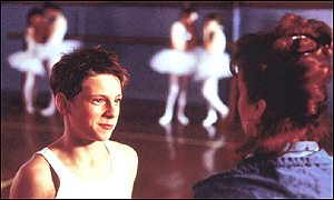 Jamie Bell in Billy Elliot