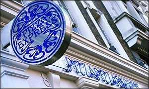 Bbc News Business Tired Decor Fails Pizza Express