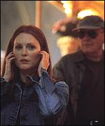 Julianne Moore and Sir Anthony Hopkins