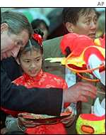 Prince Charles celebrates Chinese New Year