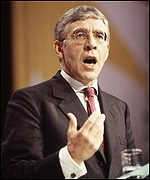 Home Secretary Jack Straw