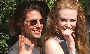 Tom Cruise and Nicole Kidman appeared a relaxed and solid couple in front of the cameras