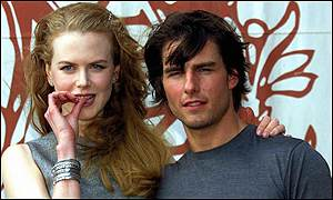 Kidman once described her husband as the sexiest man she had ever seen