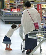 Child with trolley