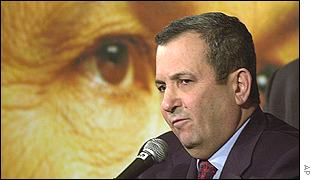Ehud Barak accepts defeat