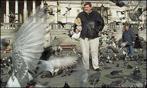 Bernard Rayner who agreed to stop selling pigeon feed