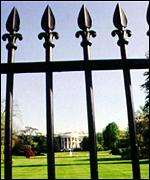 The White House fence