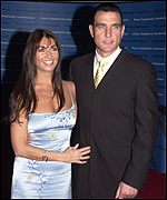 Tanya and Vinnie Jones