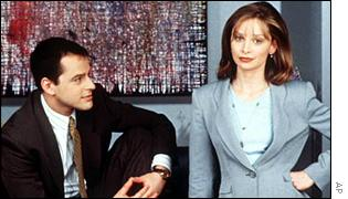 Gil Bellows and Calista Flockhart