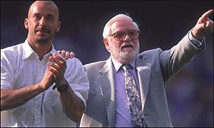 Bates sacked Gianluca Vialli for failing to win a Champions League place