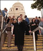 Ken Bates was pivotal in the decision to demolish Wembley's twin towers