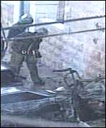 Jerusalem car bomb Feb. 2001