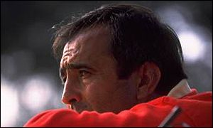 Skipper Seve seemed tense throughout