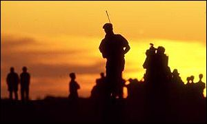 Payne Stewart left in the dark at the end of day one