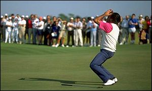 Agony for Seve Ballesteros at Kiawah Island