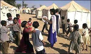 Gujarat temporary shelter