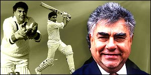 Former Indian wicket-keeper Farokh Engineer