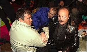 Tommy Sheridan and George Galloway