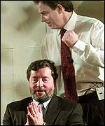 Tony Blair and David Blunkett