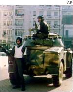 Soldiers in Algeria