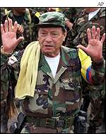 Manuel Marulanda, founder of the FARC