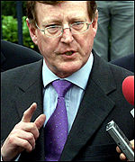 David Trimble has resigned as first minister