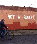 Republican graffiti in West Belfast