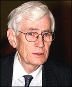 Seamus Mallon who resigned as Deputy First Minister