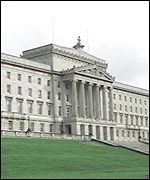 Stormont Castle, home of the NI Assembly