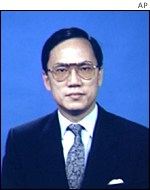 New deputy leader, Donald Tsang.