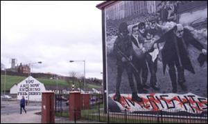 Free Derry corner in the Bogside