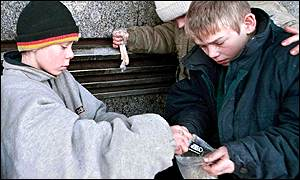 response of moscows homeless children The divide in worldview between russian adults with homes and russian homeless children  empowered victims: moscow's homeless children  a common response is .
