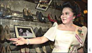 Imelda Marcos: I owe this to Jimmy Choo.