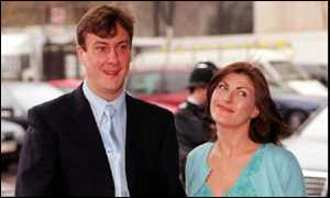 Stephen Tompkinson and Nicci Taylor