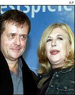 Patrice Chereau with Intimacy's other star Marianne Faithfull