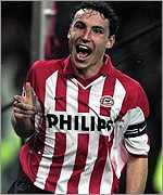 PSV captain Mark van Bommel