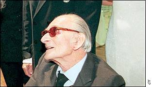 French artist Balthus who died on Sunday