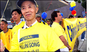 Falung Gong practitioner