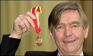 Sir Tom Courtenay receives a knighthood