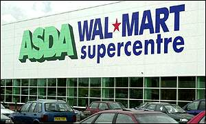 The first Asda-Wal-Mart store, opened near Bristol last July