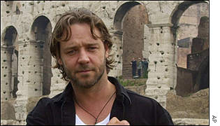 Russell Crowe in Rome