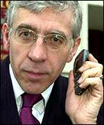 Jack Straw, home secretary