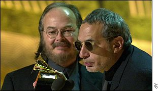 Walter Becker and Donald Fagen receive their award