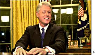 Bill Clinton's televised farewell address